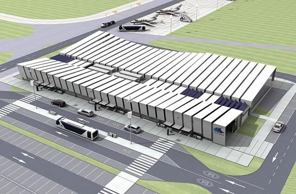 Koncepcja architektoniczna portu lotniczego Gdynia-Kosakowo