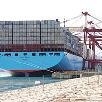 Kontenerowe giganty. Fot. Maersk