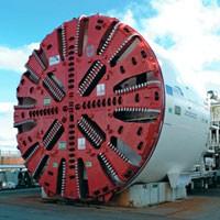 Tunel Boring Machine zwana potocznie 'kretem'