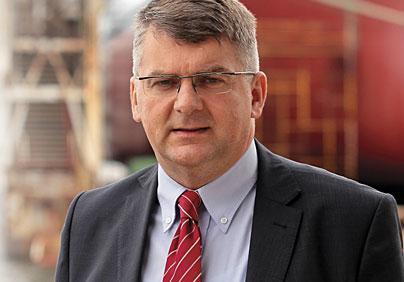 Marek Tarczyński, przewodniczący Rady Polskiej Izby Spedycji i Logistyki, a zarazem prezes zarządu Terramar Sp. z o.o. Fot. Terramar / B. Pietrzak
