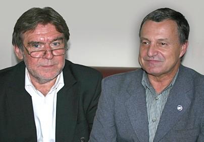 Adam Stróżyk i Zbigniew Wyganowski