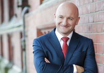 Ryszard Warzocha, prezes Zarządu Morskich Portów Szczecin i Świnoujście SA