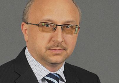 Pawł Szynkaruk - dyrektor naczelny Polskiej Żeglugi Morskiej (PŻM)