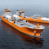 Gazowiec LNG z Gdyni