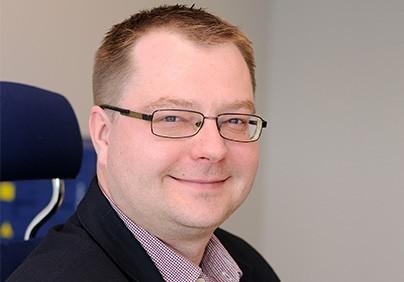 Łukasz Binaś, dyrektor Unifeeder Polska