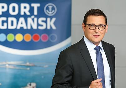 Łukasz Greinke, prezes Zarządu Morskiego Portu Gdańsk SA