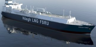 Floating Storage Regasification Unit (FSRU).
