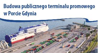 Budowa publicznego terminalu promowego w Porcie Gdynia